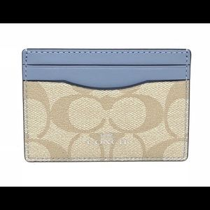 NWT Coach Credit Card Case Holder